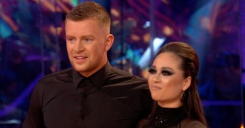 Strictly's Katya says she's 'so proud' of Adam Peaty after they 'almost kiss'