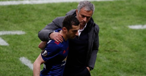 Mkhitaryan makes concerning Man Utd revelation following Jose Mourinho reunion