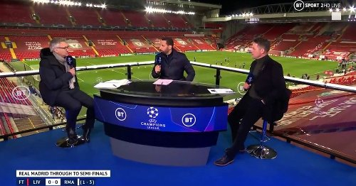 Owen and Ferdinand disagree as they predict Champions League finalists