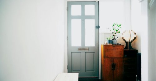 If you can't sell your house, try painting the front door grey