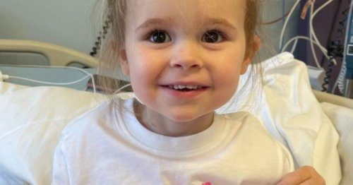 Toddler's constipation turns out to be cancer as mum warns other parents