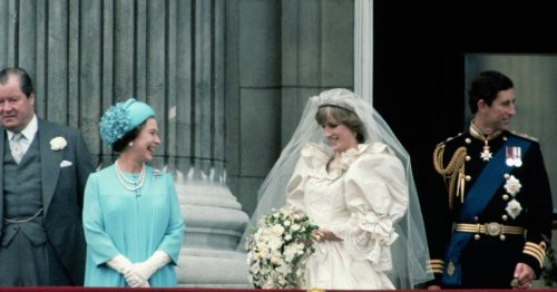 Princess Diana rode around on a bike singing the night before her wedding