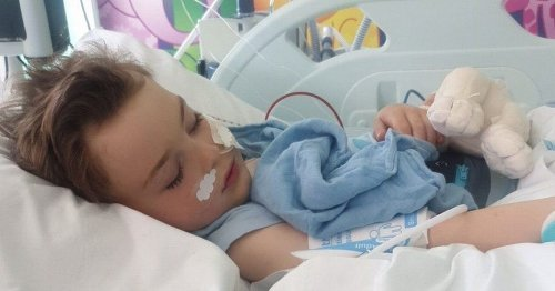 Boy, 5, fighting for life after being struck down with rare Covid complication