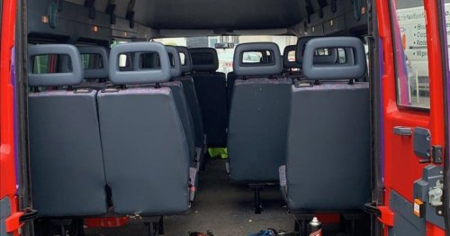 Couple spend £4,000 transforming son's school bus into holiday home