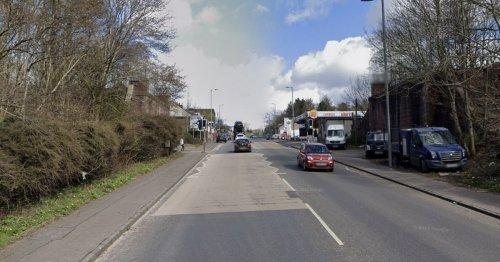 Woman, 58, dies after being hit by police van on residential street