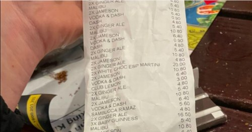 Pubgoers left furious over 'scandalous' bill after waiting four hours for table