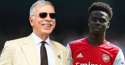 Bukayo Saka agrees with Stan Kroenke as he outlines plans for Arsenal