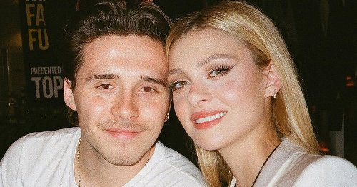 Brooklyn Beckham and fiancée Nicola Peltz share close embrace in racy naked snap