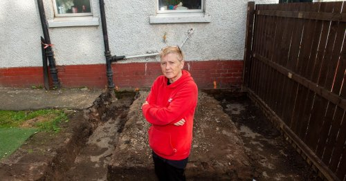 Hero nurse left with huge garden crater by building firm at centre of cop probe