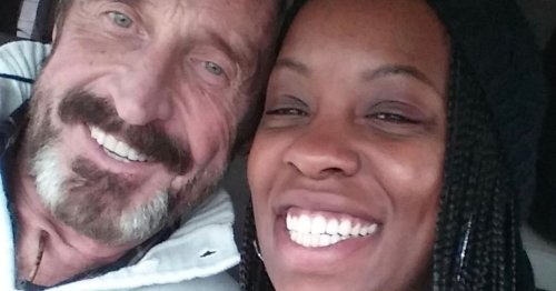 John McAfee's widow shares how Brit tycoon blew £73million before dying in jail