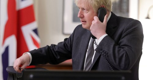 No10 won't investigate leak of texts from Boris Johnson's personal phone