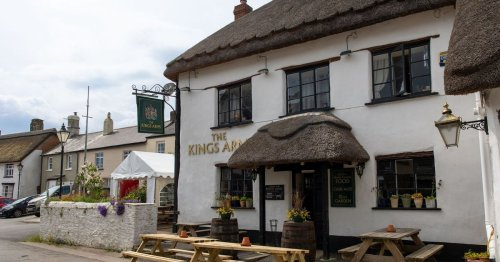 Village pub with network of hidden tunnels and haunted by resident ghosts