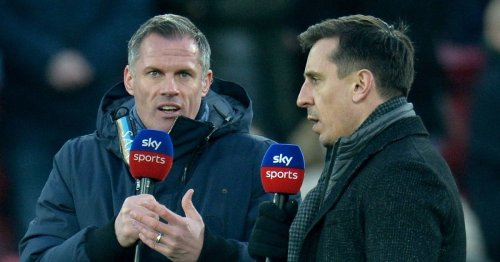 Carragher claims top four spot would be success for Liverpool with Neville dig