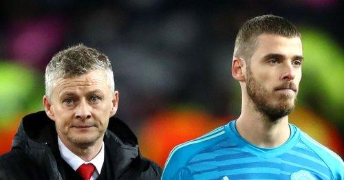 Ole Gunnar Solskjaer in stand-off with David de Gea over Man Utd future