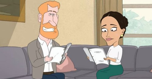 Prince Harry's savage dig at Meghan 'wanting to be a princess' in cartoon series