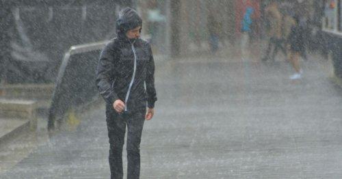 Three days of heavy rain to hammer Britain before snow and -10C freeze