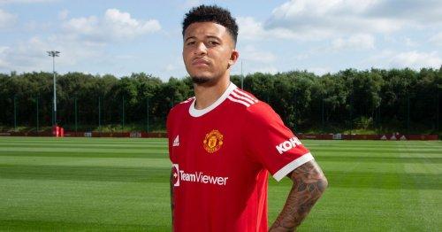 "Jadon Sancho ""could galvanise"" two Man Utd stars after £73m transfer"