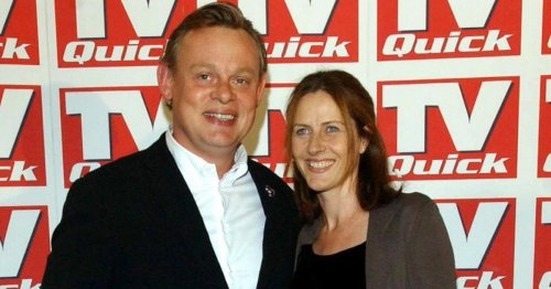 Martin Clunes' wife who works on Manhunt and his romantic proposal after absence