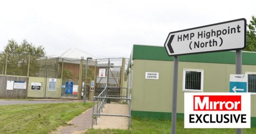 Lags enjoying cannabis and mobiles phones hurled into prisons in lumps of grass