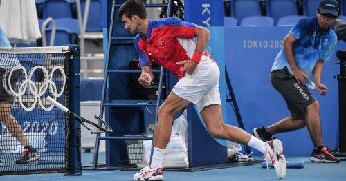"Piers Morgan labels Novak Djokovic actions ""pathetic"" after he smashes racquet"