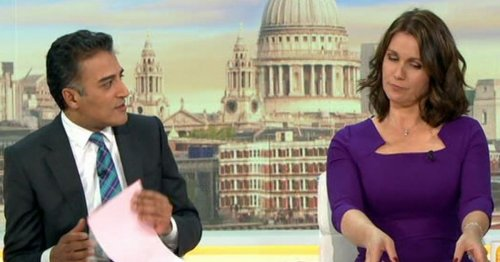 Susanna Reid unimpressed as GMB guest calls her sons 'illegitimate' in debate