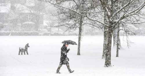 Up to 6ins of snow could hit Britain as 'coldest day since spring' looms