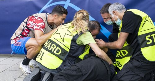 Steward feared for her life after Ronaldo knocked her down with wayward shot