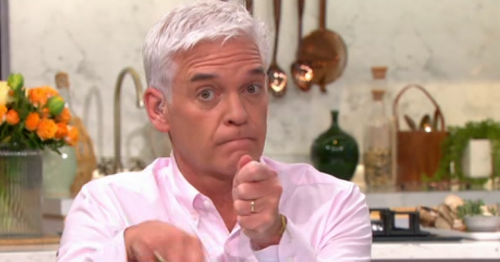 Ruth Langsford tells Phillip Schofield 'don't be such a cynic' as he makes dig