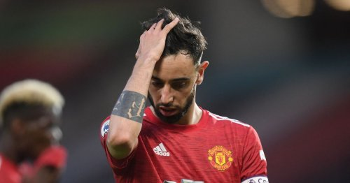 Fernandes gives clear instruction to Man Utd teammates after Liverpool defeat