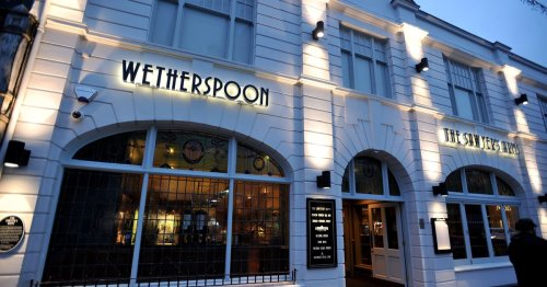 Wetherspoons lists 6 pubs that won't reopen for indoor dining next week
