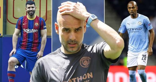 Behind Man City's exodus as Guardiola may lose seven first-team stars in a year
