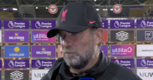 Klopp responds as Liverpool miss chance to send title message at Brentford