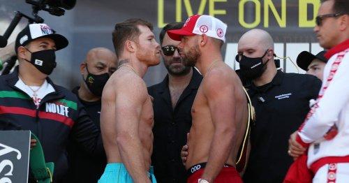 Canelo Alvarez vs Billy Joe Saunders UK fight time and start time tonight
