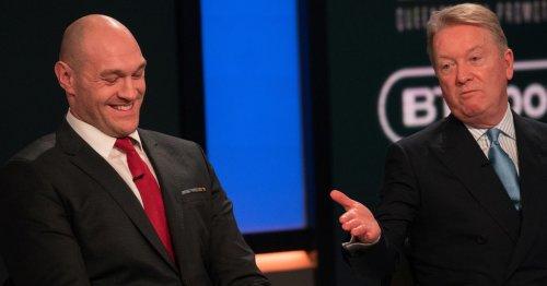Frank Bruno explains why he believes Tyson Fury will beat Anthony Joshua