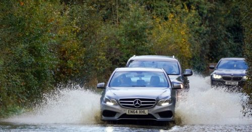 Met Office issues weather warning for 6 hours of torrential rainfall and floods