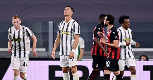Ronaldo facing Champions League embarrassment after AC Milan humble Juventus