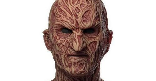 Man in stitches after buying Freddie Krueger mask that looks like 'cheese pizza'