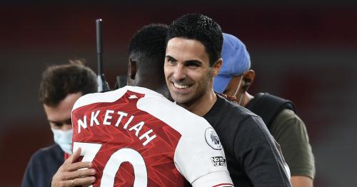 "Arteta's soft spot for Nketiah complicates ""clear project"" at Arsenal"