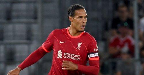 Five things you might have missed as Liverpool lose despite van Dijk's return