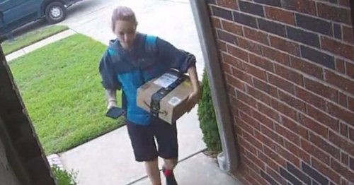 Woman praises Amazon driver after she follows cheeky instructions to hide parcel