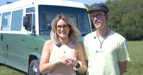 Meet UK's 'Coolest Campers' converting scrapheap vans into ideal mobile homes
