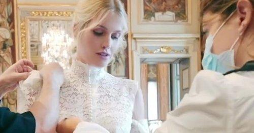 Kitty Spencer's incredible wedding dress had 'hidden links' to Princess Diana
