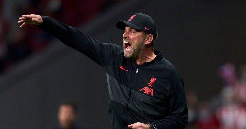 Klopp set to make decision on four Liverpool stars for Man Utd clash