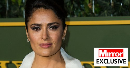Salma Hayek says secret to incredible body is 'only exercise for 5 mins a day'