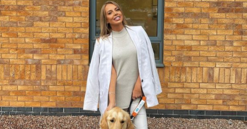 Love Island star Faye Winter's new job working with guide dogs