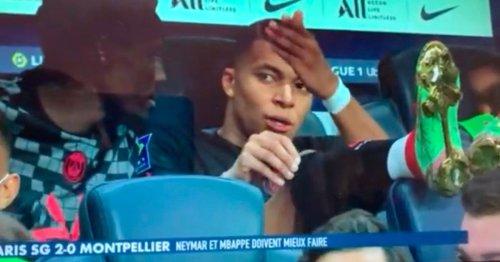 Leaked footage captures furious Kylian Mbappe's rant at PSG team-mate Neymar