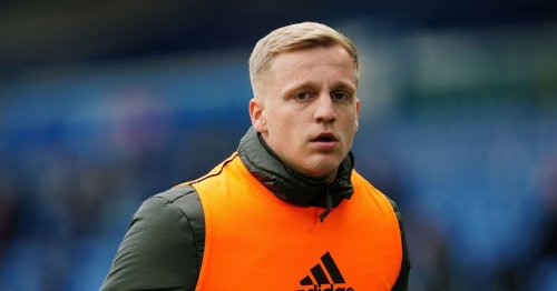 Ajax bosses tell Donny van de Beek what to do about his Man United future