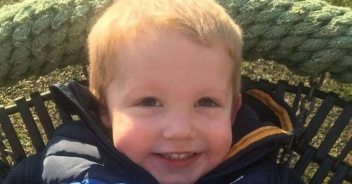 Mum's warning after toddler's 'bruises from playing' were actually cancer