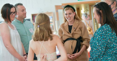 Princess Beatrice's £10k luxury maternity wing - king-size beds & afternoon tea