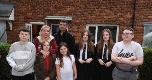 Family of 8 beg for help saying they've 'nowhere to go' as home to be demolished